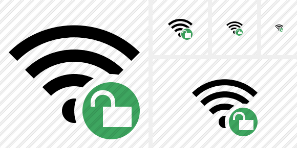 Wi Fi Unlock Icon