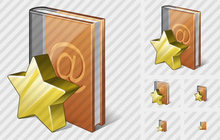 Address Book Favorite Icon