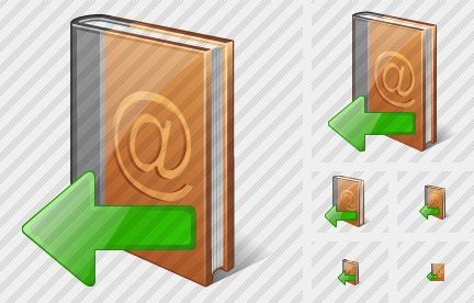 Address Book Import Icon