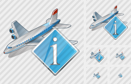 Airplane Info Icon