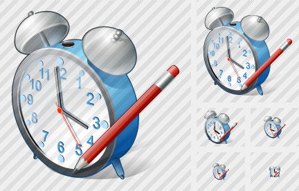 Alarm Clock Edit Icon