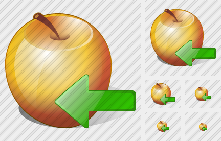 Apple Import Icon