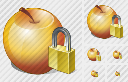 Apple Locked Icon