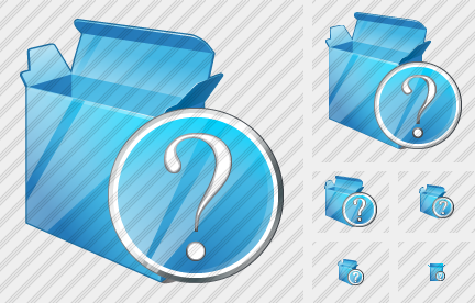 Box Open Question Icon