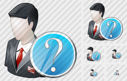 Business User Question Icon