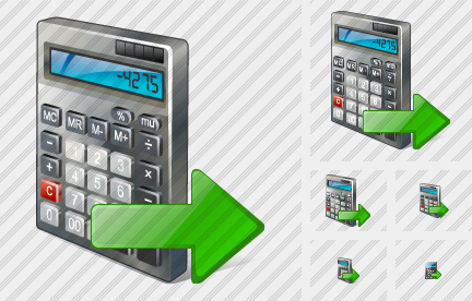 Calculator Export Icon