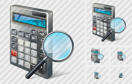 Calculator Search 2 Icon