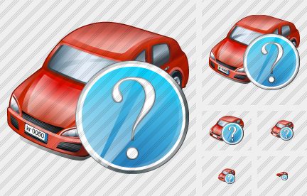 Car Question Icon