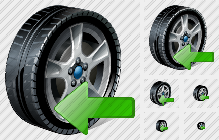 Icone Car Wheel Import