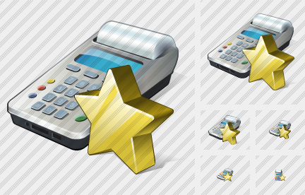 Cash Register Favorite Icon