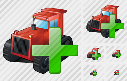 Icone Catterpillar Tractor Add