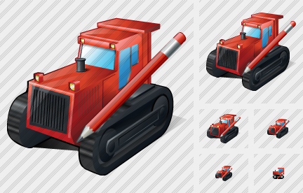 Icone Catterpillar Tractor Edit