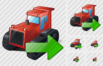 Icone Catterpillar Tractor Export