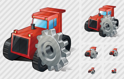 Catterpillar Tractor Settings Icon