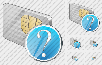 Chip Card Question Icon