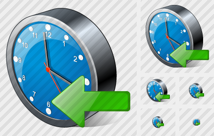 Icone Clock Import