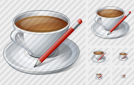 Coffee Cup Edit Icon