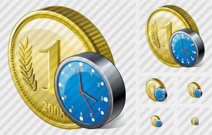 Icone Coin Clock