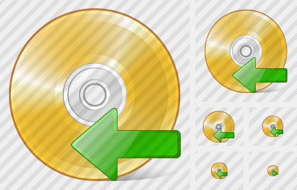 Icone Compact Disk Import