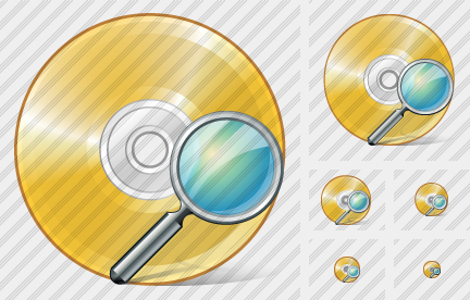 Icone Compact Disk Search