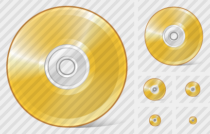Icone Compact Disk