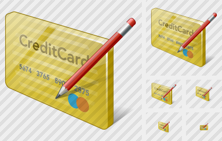 Credit Card Edit Icon
