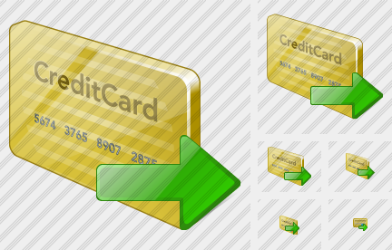 Icone Credit Card Export