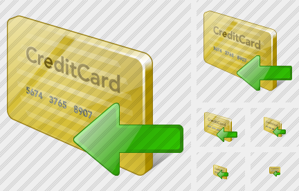 Icone Credit Card Import