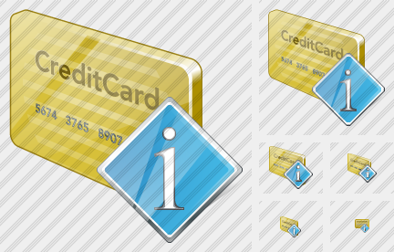 Credit Card Info Icon