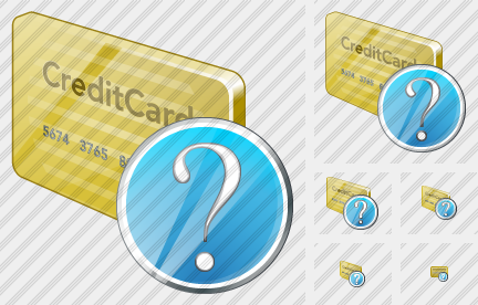 Credit Card Question Icon