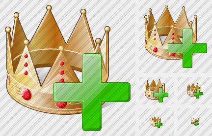 Icone Crown Add