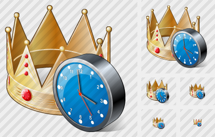 Icone Crown Clock