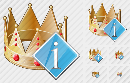 Icone Crown Info