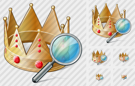 Icone Crown Search