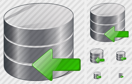 Database Import Icon