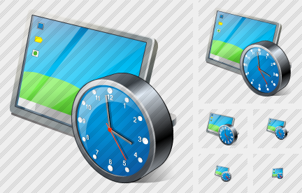 Icone Desktop Clock