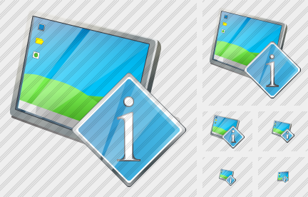 Desktop Info Icon