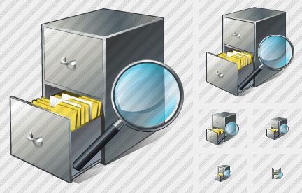 Document Box Search 2 Icon