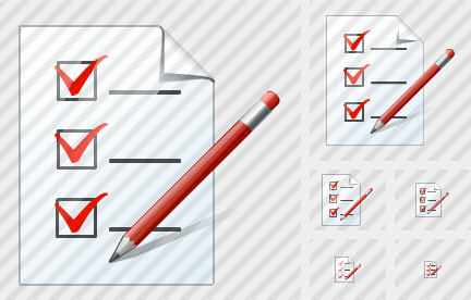 Document Task Edit Icon