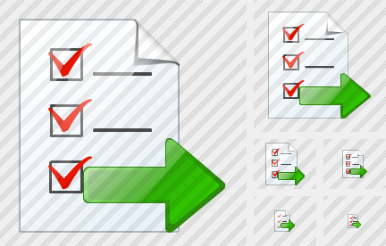 Document Task Export Icon
