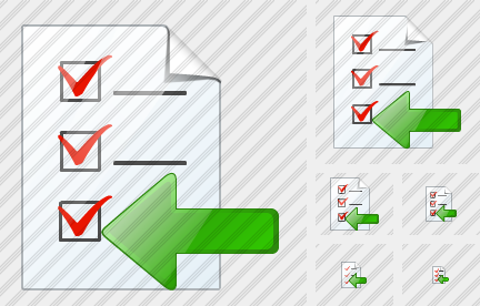 Document Task Import Icon