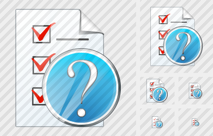 Document Task Question Icon