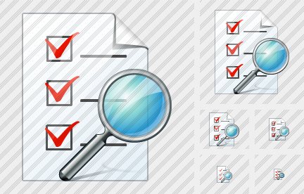 Document Task Search Icon