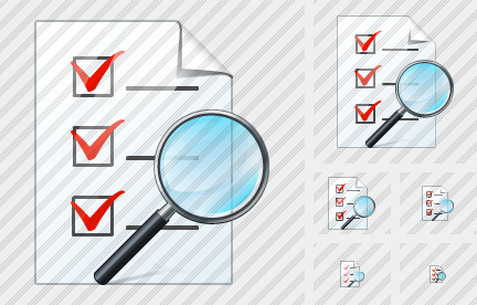 Document Task Search 2 Icon