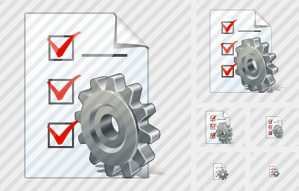 Document Task Settings Icon