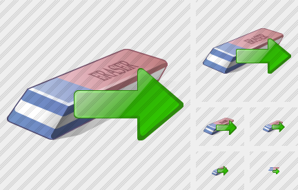 Eraser Export Icon