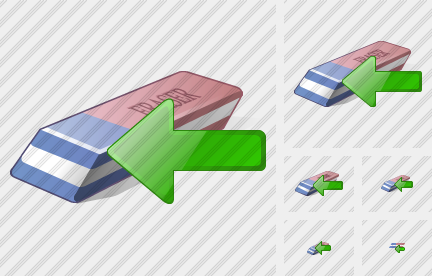 Eraser Import Icon