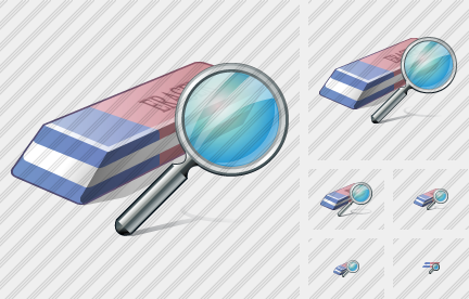 Eraser Search Icon