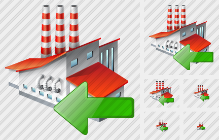 Factory Import Icon