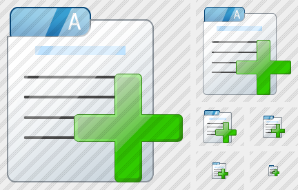 File Card Add Icon